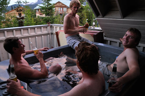 Whistler - Hot Tub Party