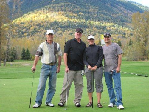 Dirtbag Golf Tournament at Fernie Golf and Country Club
