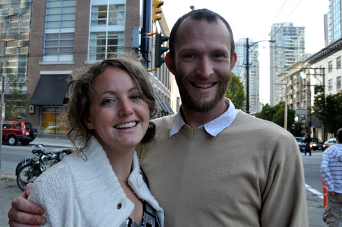 An Ocean Called Owen in Vancouver BC - Brina and Dwight