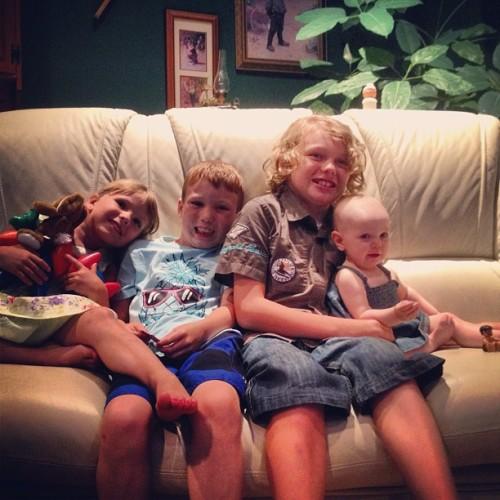 Schenk Family Children - Adia, Brody, Max, Phoenix