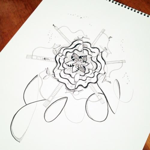 babysit exchange - jade drawing
