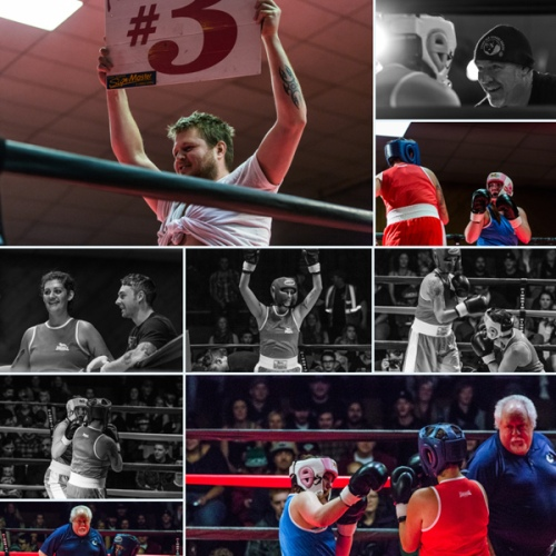 judgement night - amateur boxing night in fernie - photography