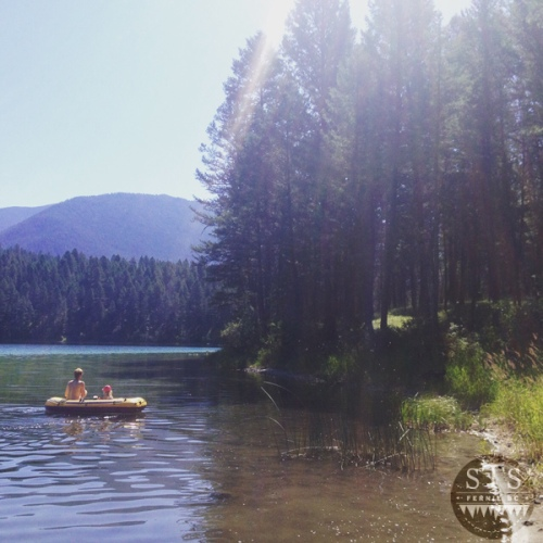 Loon Lake BC with the family - day trip