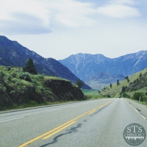 explore bc - mountains and roads - road trip