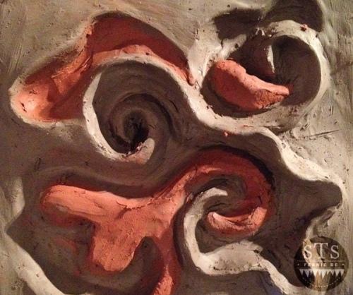 Fernie BC - Drawing Club - emotions in clay